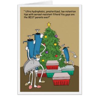 Extremidades de Navidad Tarjetas