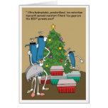 Extremidades de Navidad Tarjeta De Felicitación