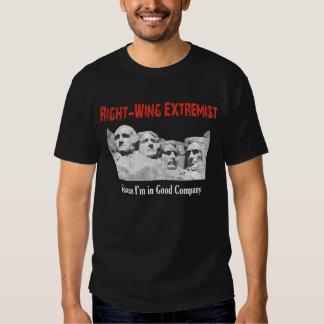 Extremista de la derecha playeras