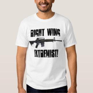 ¡Extremista de la derecha! Remeras
