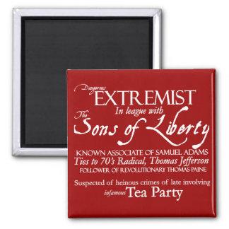 Extremista peligroso: Poster del siglo XVIII del e Imán Cuadrado