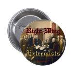 Extremistas de la derecha pins