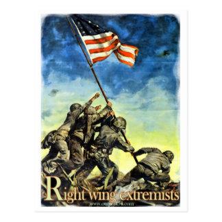 Extremistas de la derecha postales
