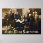 Extremistas de la derecha poster