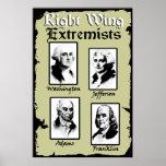 ¡Extremistas de la derecha! Poster