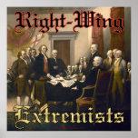 Extremistas de la derecha posters
