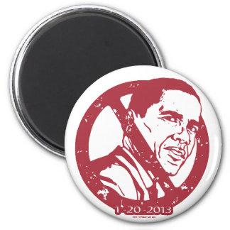 Extremo 2013 de un engranaje anti de Obama del err Imán Redondo 5 Cm