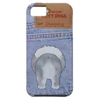 Extremo azul del perro pastor de Jean iPhone 5 Protectores
