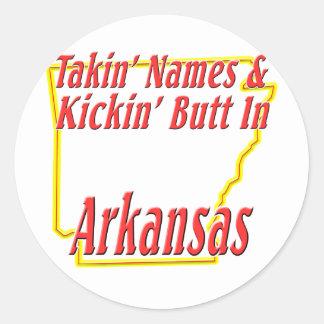 Extremo de Arkansas - de Kickin Etiquetas Redondas