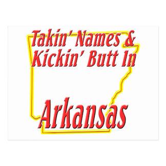 Extremo de Arkansas - de Kickin Tarjeta Postal