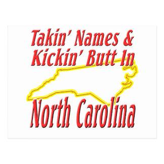 Extremo de Carolina del Norte - de Kickin Tarjeta Postal