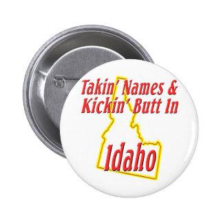 Extremo de Idaho - de Kickin Pin Redondo De 2 Pulgadas