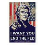 Extremo de Jefferson el poster de FED