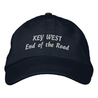 Extremo de Key West de la selección del camino su Gorras Bordadas