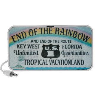 Extremo de Key West la Florida de los altavoces de