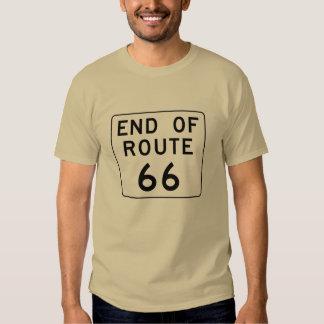 Extremo de la muestra de la ruta 66 playera