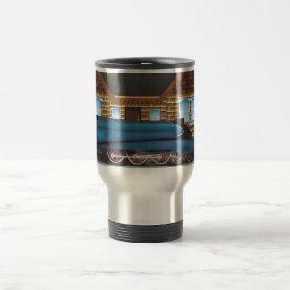 Extremo de los viajes tazas de café