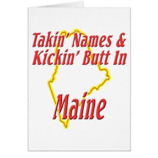 Extremo de Maine - de Kickin Tarjetón
