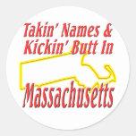 Extremo de Massachusetts - de Kickin Etiqueta Redonda