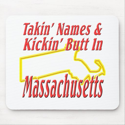 Extremo de Massachusetts - de Kickin Alfombrillas De Ratón