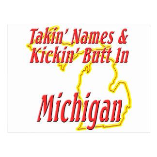 Extremo de Michigan - de Kickin Postales
