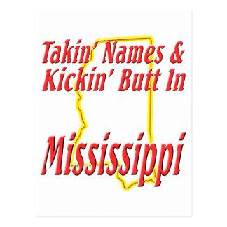 Extremo de Mississippi - de Kickin Tarjetas Postales