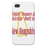 Extremo de New Hampshire - de Kickin iPhone 4 Carcasas
