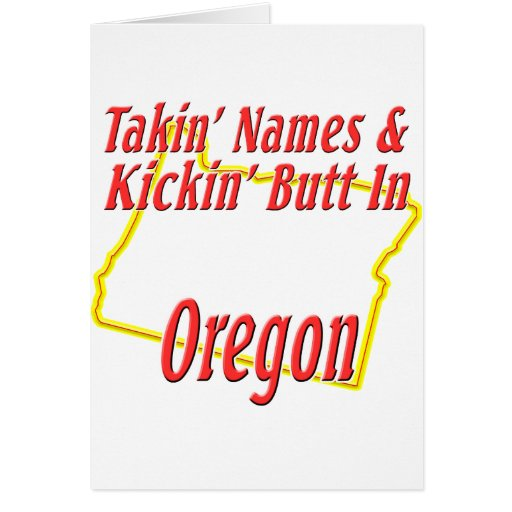 Extremo de Oregon - de Kickin Felicitacion