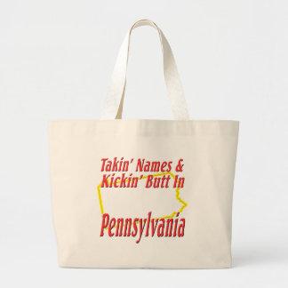 Extremo de Pennsylvania - de Kickin Bolsa Tela Grande