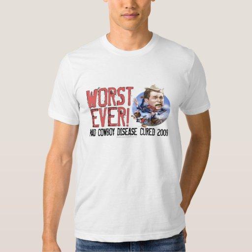Extremo de una camisa del error