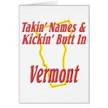 Extremo de Vermont - de Kickin Felicitación
