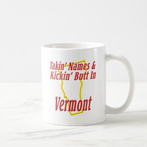 Extremo de Vermont - de Kickin Taza Básica Blanca