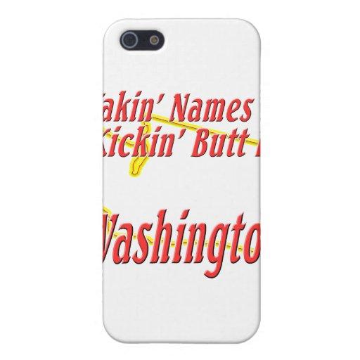 Extremo de Washington - de Kickin iPhone 5 Fundas
