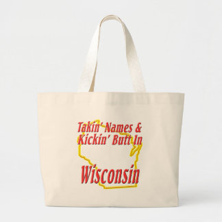 Extremo de Wisconsin - de Kickin Bolsa Tela Grande