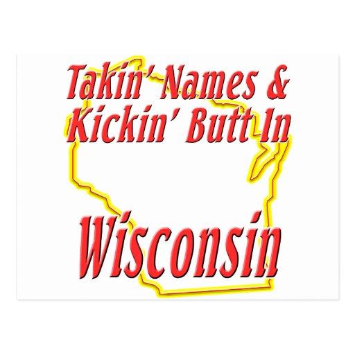 Extremo de Wisconsin - de Kickin Tarjetas Postales
