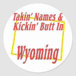 Extremo de Wyoming - de Kickin Etiqueta Redonda
