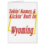 Extremo de Wyoming - de Kickin Felicitacion