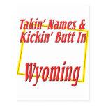 Extremo de Wyoming - de Kickin Postales