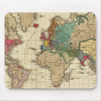 Extremo Del ANUNCIO general 1828 de la paz Alfombrillas De Raton