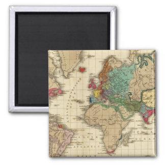 Extremo Del ANUNCIO general 1828 de la paz Imán De Frigorifico