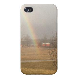extremo del arco iris iPhone 4 protector