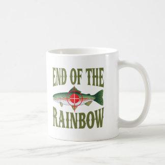 Extremo del arco iris taza