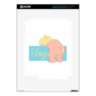 Extremo del bebé iPad 3 skins