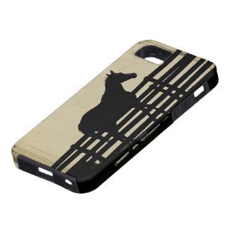 Extremo del caso de la granja del caballo del iPho iPhone 5 Case-Mate Coberturas