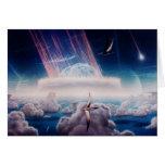 Extremo del dinosaurio de NASAs Tarjetas
