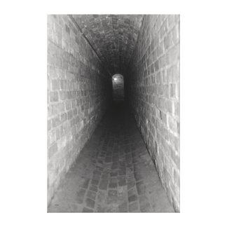 Extremo del túnel impresiones en lona