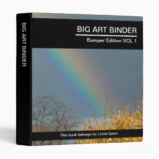 """Extremo grande del arte 055 (el 1in) del arco iris carpeta 1"""""""