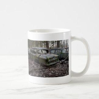 Extremo triste taza de café
