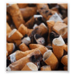 Extremos de cigarrillo impresiones