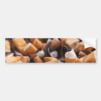 Extremos de cigarrillo pegatina para auto
